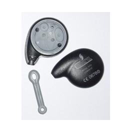 coque boitier vide de t l commande et batterie cr 2032 loja alarmes cobra. Black Bedroom Furniture Sets. Home Design Ideas