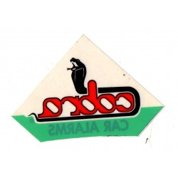 Classic Cobra Car Alarm Window Stickers