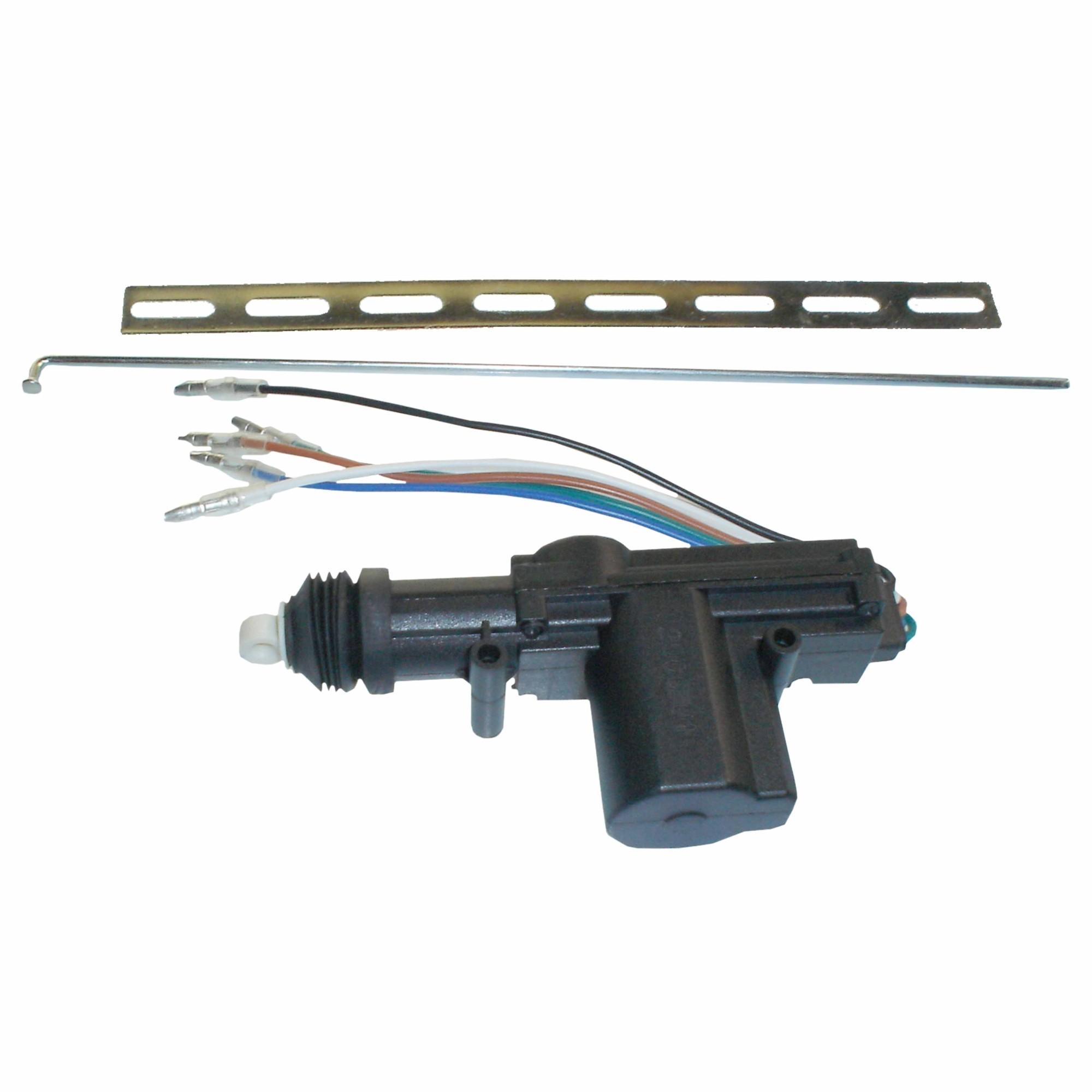 5 Wire Door Lock Actuator Loja Alarmes Cobra Wiring